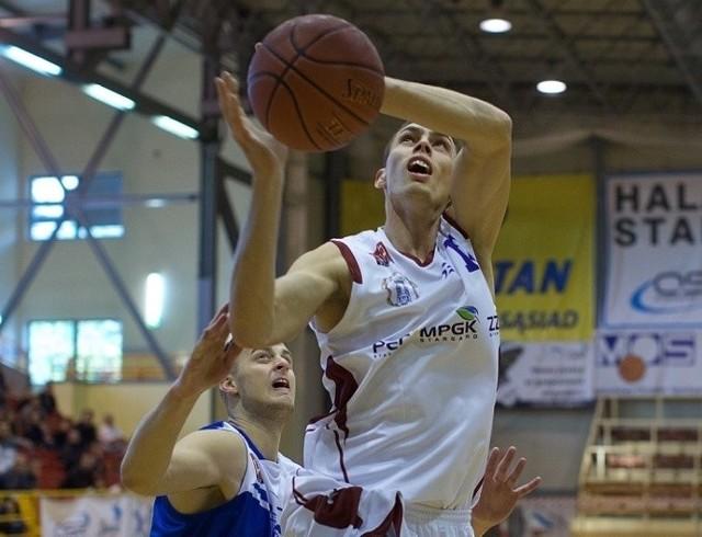 Arkadiusz Soczewski rzucił 7 punktów i miał dwie zbiórki.