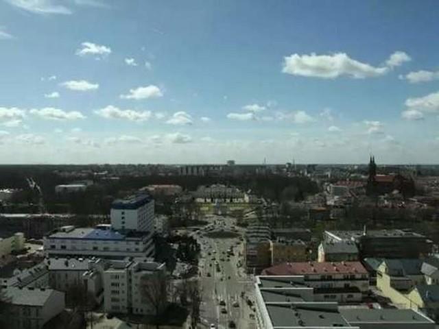 Time lapse pokazuje piękny Białystok