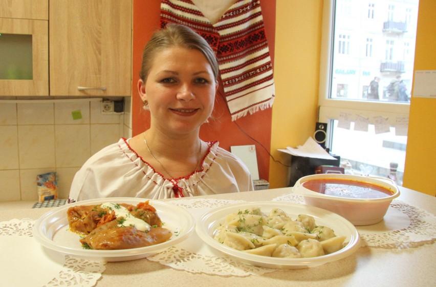 Kuchnia Ukraińska W Centrum Kielc Zjemy Pielmienie Barszcz