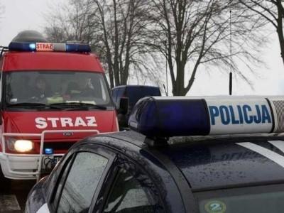 Do wypadku doszło na drodze krajowej nr 50 na trasie Mochów-Wierzch.