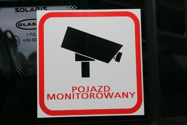 Analizowany będzie zapis monitoringu