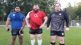 Rugby. Łódzka pierwsza linia młyna waży 420 kilogramów