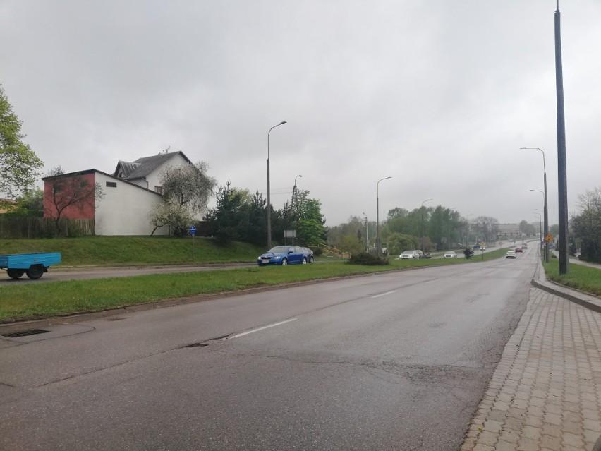 Ul. Utrata w Suwałkach.