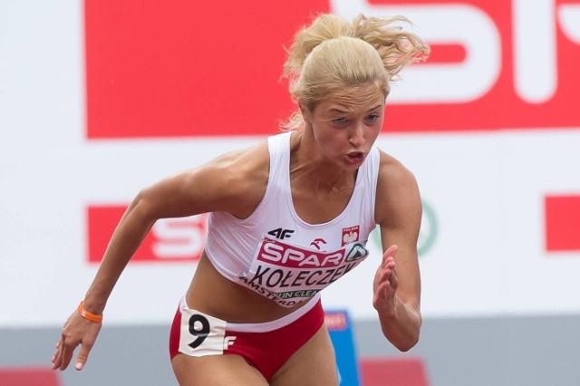 Karolina Kołeczek w Amsterdamie nie wypełniła olimpijskiego minimum do Rio de Janeiro.