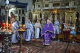 Bielsk Podlaski. Rekolekcje duchowieństwa dekanatu bielskiego i jubileusz 65-lecia święceń kapłańskich ks. mitrata Leoncjusza Tofiluka