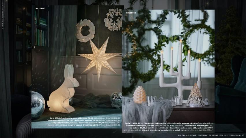 Ikea 2018 Zobacz Dekoracje świąteczne W Ikea Ceny Zdjęcia