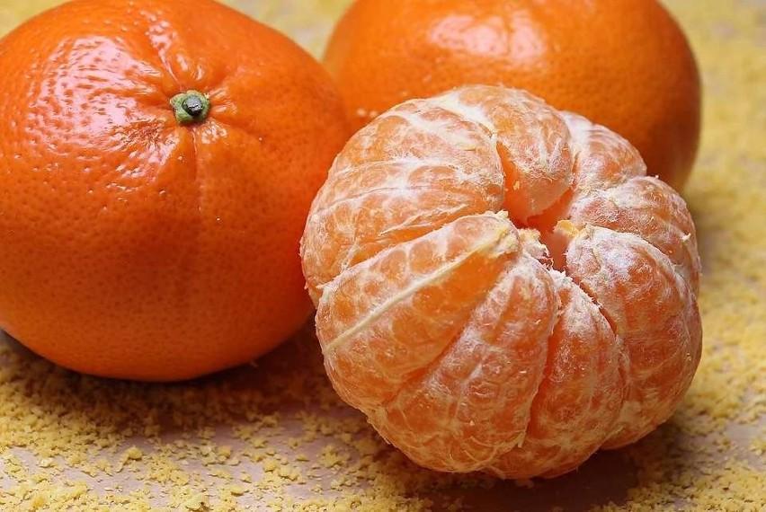 Mandarynki też zapobiegają miażdżycy naczyń.