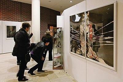 Wystawa w galerii Oko dla Sztuki Fot. Anna Kaczmarz