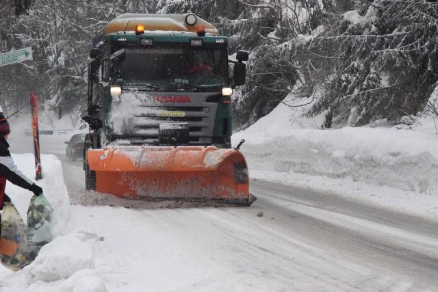 Śniegu w Beskidach nadal jest bardzo dużo, ale to już nie jest ten armagedon, co w ubiegłym tygodniu