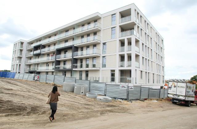 Nowy BaranówekPowstaje pierwszy budynek w Nowym Baranówku.