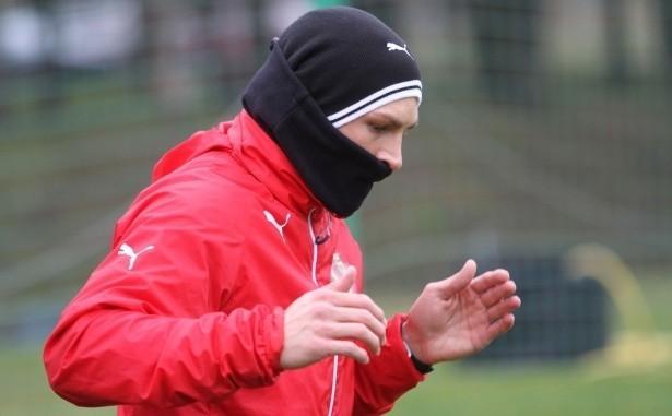 Michał Gardawski rozpoczął indywidualne treningi