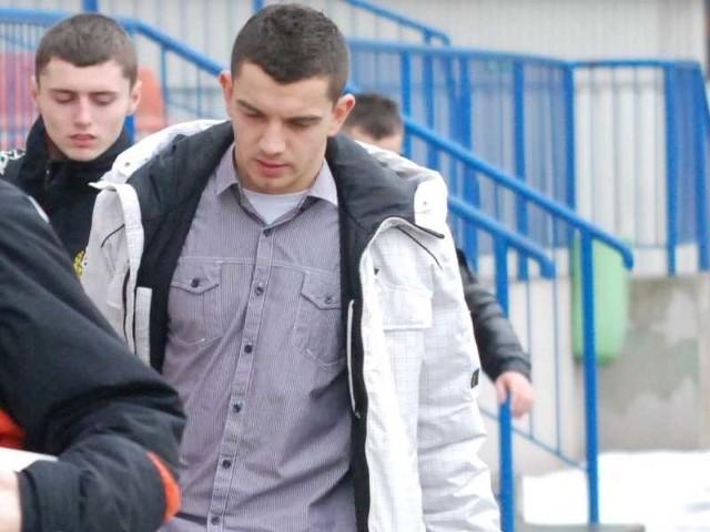 Adrian Frańczak nie jest już piłkarzem KSZO.