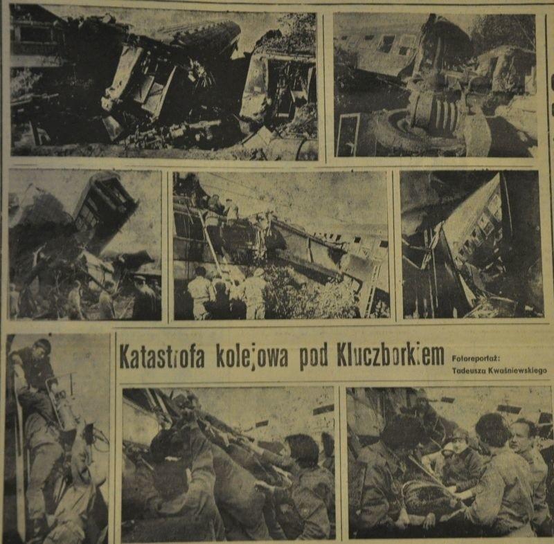 17 października 1984 roku w Bąkowie pociąg pospieszny...
