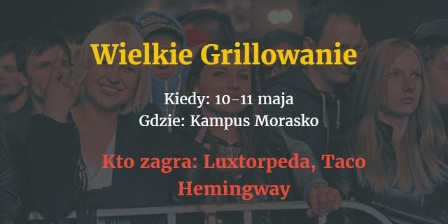 Maj to miesiąc wielkiej studenckiej zabawy. W najbliższych tygodniach odbędzie się aż pięć imprez, zorganizowanych przez poznańskie uczelnie. Kto wystąpi? Sprawdźcie!Przejdź do kolejnego zdjęcia ------>Poznań: Jakie atrakcje podczas Nocy Muzeów?