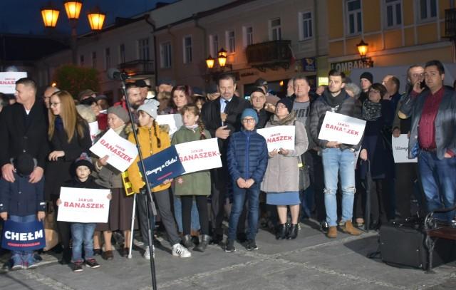 Wizyta premiera Morawieckiego w Chełmie