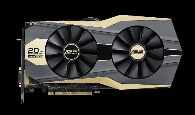 Asus 20th Anniversary Gold Edition GTX 980 TiAsus 20th Anniversary Gold Edition GTX 980 Ti