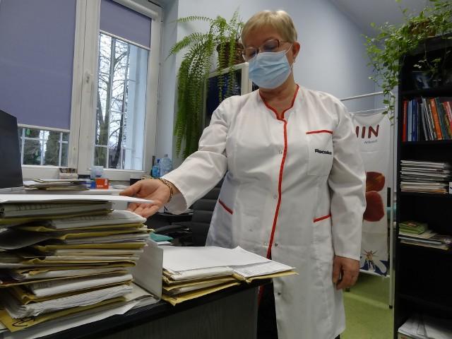 - Lekarze pracujący w Provicie są już teraz bardzo obłożeni pracą - mówi szefowa poradni doktor Kazimiera Odziomek