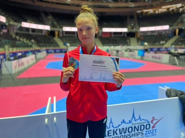 Julia Nowak zakończyła rywalizację w kategorii młodziczek i kadetek z ponad 50 medalami