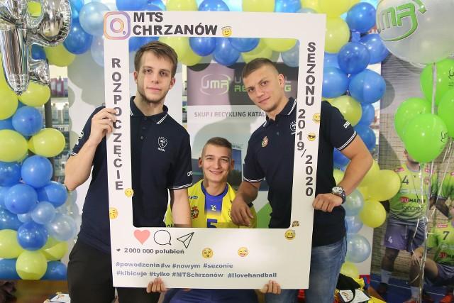 Adrian Danysz (po lewej), Karol Put i Sebastian Danysz nie będą już występować w MTS-e Chrzanów