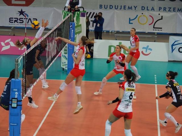 Ostatni punkt w meczu zdobyła Klaudia Alagierska