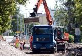 Trwa remont ulicy Kruszelnickiego w Grudziądzu [zdjęcia]
