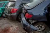 Pijany kierowca uszkodził 4 samochody na Ołbinie