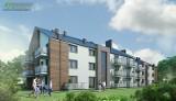 Wielki boom na mieszkania w Busku-Zdroju. Tak będzie wyglądał nowy apartamentowiec na Kusocińskiego (WIZUALIZACJE)