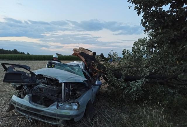 Do wypadku doszło w Rypałkach koło Rypina