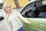 Poznań City Center: Ostrzelano auto na parkingu?
