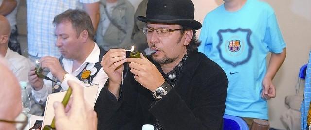 Tomasz Chołuj przyjechał z Wrocławia.
