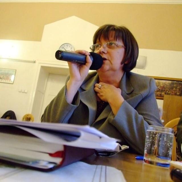 Maria Feliniak poinformowała o stratach firmy na ostatniej sesji rady miejskiej.