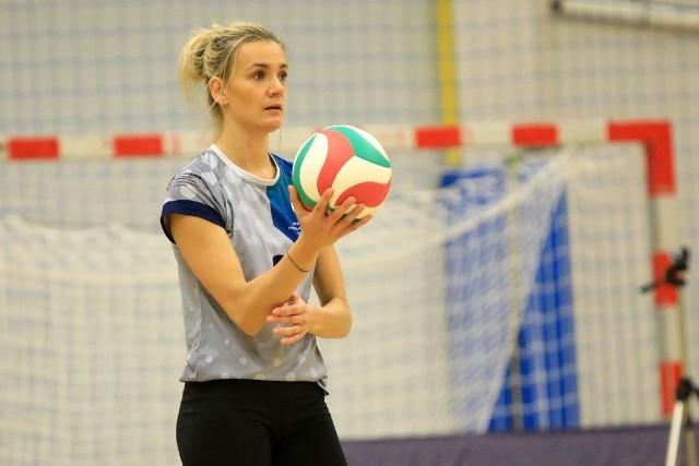 Sandra Guzowska nie zagrała w ostatnim meczu AZS-u UMK