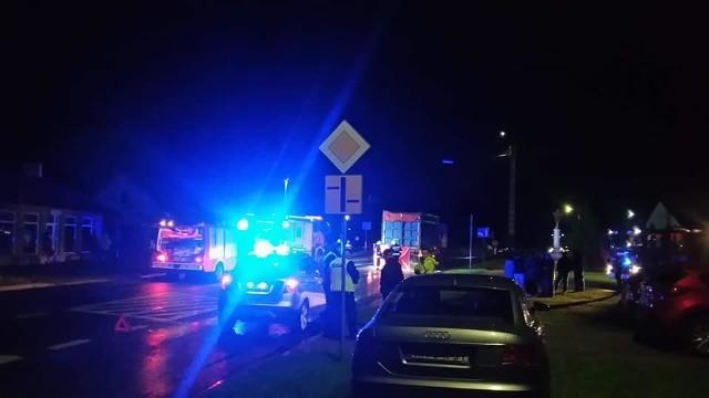 Śmiertelny wypadek wydarzył się w Wieniawie na drodze krajowej numer 12.