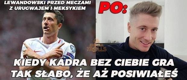 Robert Lewandowski I Nowa Fryzura Najlepsze Memy Polska Times
