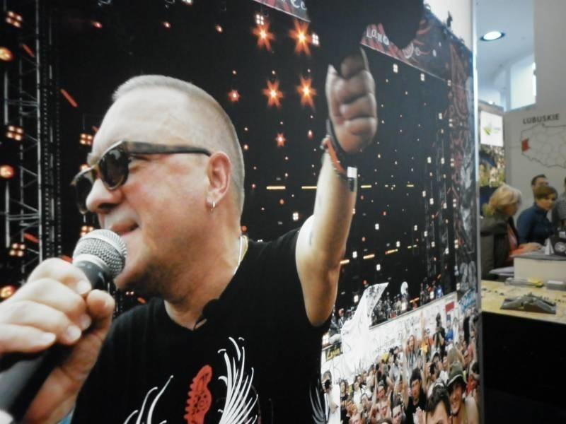 Jurek Owsiak z kostrzyńskim Woodstockiem promował Lubuskie na berlińskich targach turystycznych.
