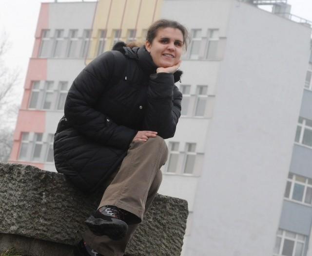 Beata Jastrzębska jest studentką drugiego roku pedagogiki na Uniwersytecie Zielonogórskim