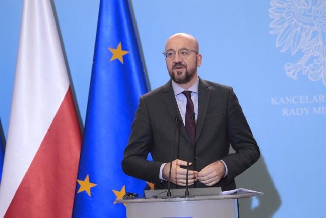 Charles Michel przedstawił propozycję unijnego budżetu wraz z mechanizmem powiązania funduszy unijnych z kwestią przestrzegania praworządności