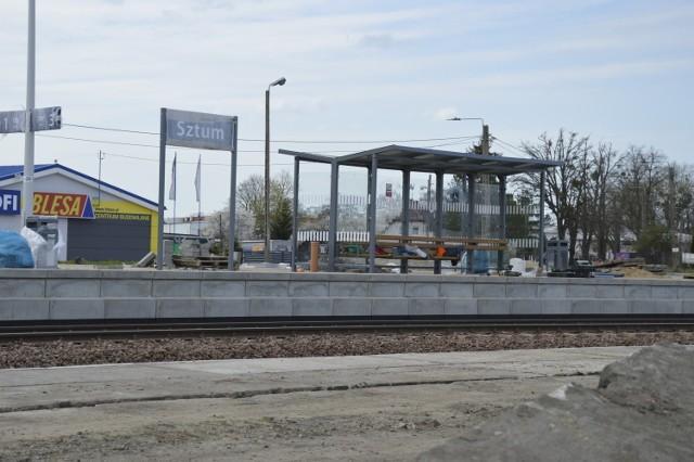 Remont stacji kolejowej w Sztumie dobiega końca! Powstanie nowy węzeł integracyjny?