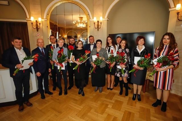 19 listopada w Teatrze im. Horzycy wręczono nagrody marszałka województwa w dziedzinie kultury