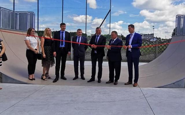 W ostatni piątek otwarto skate park na terenie parku rekreacyjnego w Orońsku.