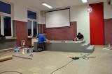 Goworowo. Szkoła Podstawowa otrzymała grant i stworzyła szkolną estradę artystyczną dla uczniów. Zdjęcia