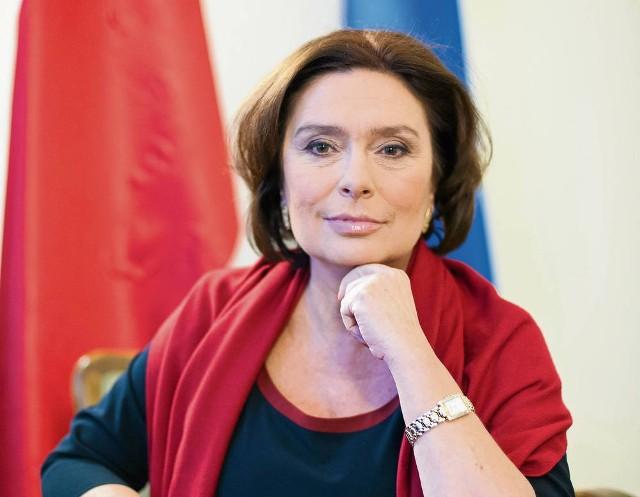 Małgorzata Kidawa-Błońska jest kandydatką poważną, acz budzącą podejrzenia o konflikt interesów