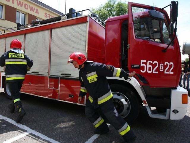 Na razie samochód na 2-osobową załogę. Ale strażacy będą chcieli doposażyć kabinę w trzecie miejsce dla dodatkowego strażaka.
