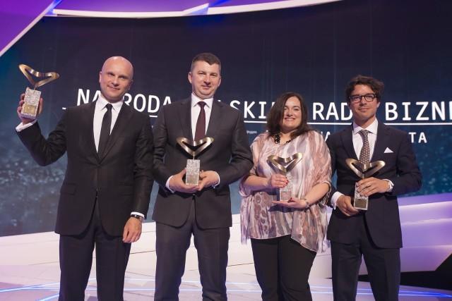 Znamy laureatów piątej edycji Nagrody Polskiej Rady Biznesu im. Jana Wejcherta
