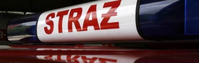 Jedna osoba zginęła w pożarze budynku mieszkalno-gospodarczego w Krzepicach.