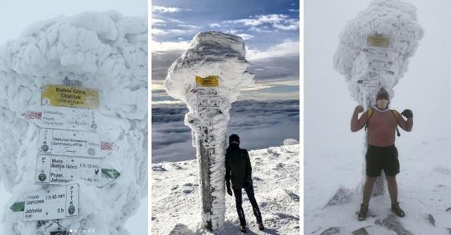 Babia Góra przyciąga mnóstwo fanów zimowych, górskich wędrówek.