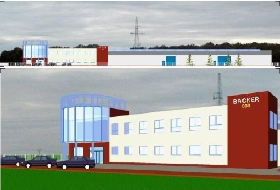 Firma powstała w 1991 r. w Szczecinie. W 1995 roku przeniesiona została do Pyrzyc. Spółka należy do szwedzkiego koncernu, który ma swoje firmy w Szwecji, Norwegii, Finlandii, Danii, Czechach, we Włoszech, Hiszpanii, Holandii, Anglii oraz w USA i w Chinach. Produkuje specjalistyczne elementy grzejne. Są to elementy rurkowe, elementy do cieczy, do gazów i powietrza, do odszraniania i odmrażania, grzejniki przemysłowe, także grzejniki foliowe i rezystory. Dla przykładu: grzejniki foliowe znajdują zastosowanie m.in. w lusterkach samochodowych, łóżkach wodnych, inkubatorach, obiektywach kamer, prasowalnicach, klawiaturach bankomatów, bojlerach i innych. Na obrazku - wizualizacja Backera w Stargardzie.