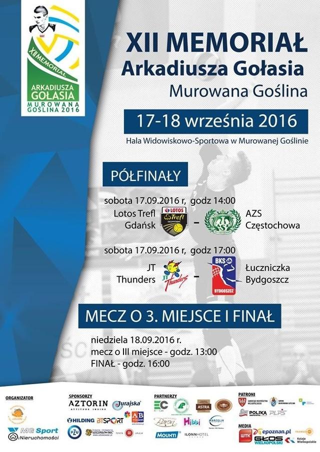 Przez dwa dni Murowana Goślina będzie stolicą męskiej siatkówki w naszym kraju