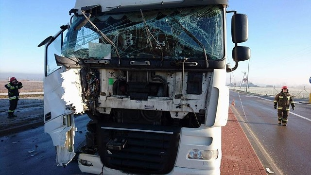 Do zdarzenia drogowego doszło we wtorek około godziny 10.00 na DK 58 za Szczuczynem.