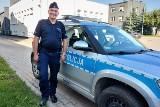 Powiat zgierski. Policjant na spacerze odnalazł ciągnik rolniczy skradziony rolnikowi pod Aleksandrowem Łódzkim